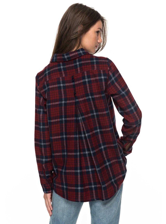 Roxy-Heavy-Feelings-A-Long-Sleeve-Shirt-Camisa-De-Manga-Larga-Mujer