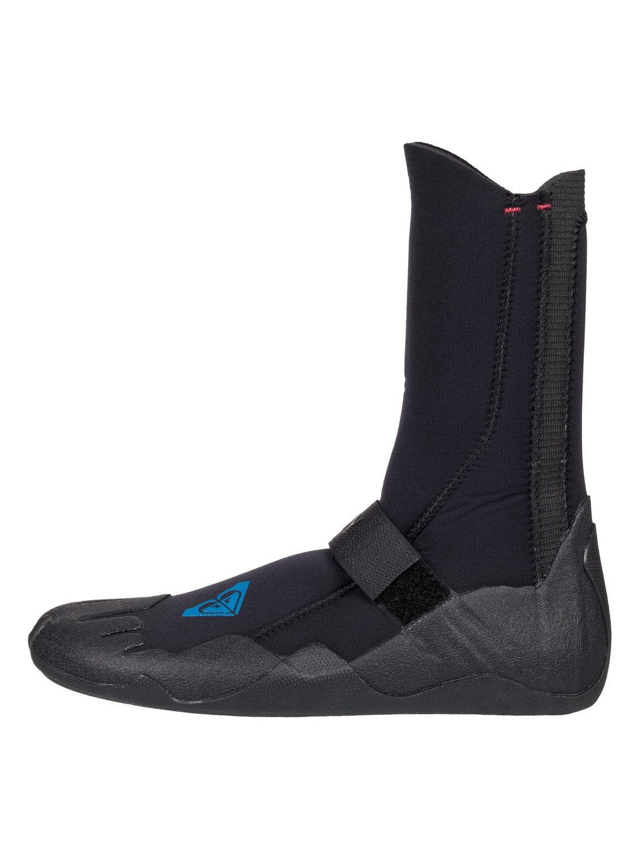 8a1dd5cfe 0 5mm Syncro - Round Toe Surf Boots Black ERJWW03004 Roxy