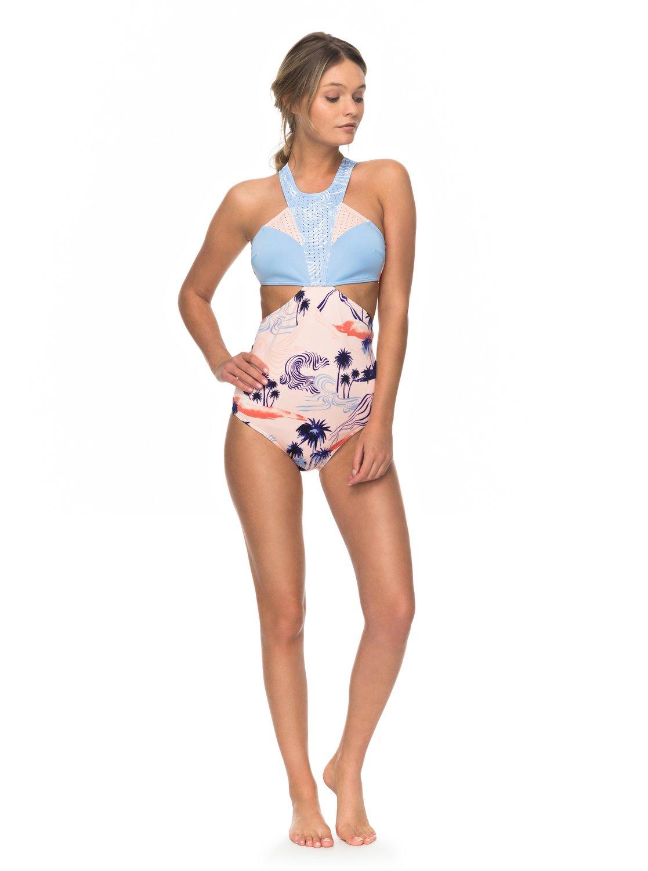 549c835625 2 Pop Surf One-Piece Swimsuit ERJX103073 Roxy