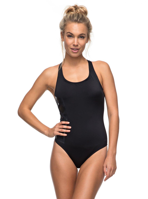 b24eae299c 0 Keep It ROXY - One-Piece Swimsuit for Women Black ERJX103084 Roxy