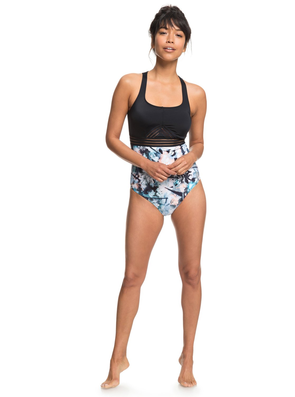 e7e75bfcfde1 2 ROXY Fitness - Badeanzug für Frauen Blau ERJX103142 Roxy