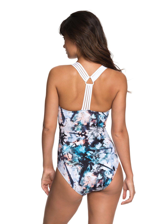 92e654c2a4ee 2 ROXY Fitness - Sportlicher Badeanzug für Frauen Blau ERJX103144 Roxy