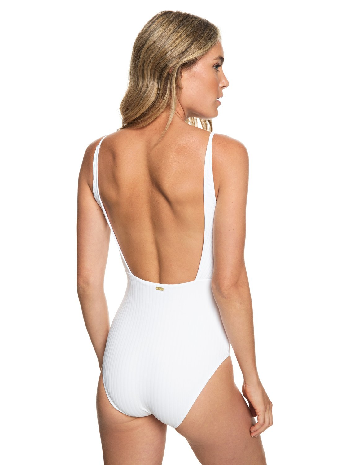 3 Color My Life One-Piece Swimsuit White ERJX103171 Roxy bc4e34590ec0