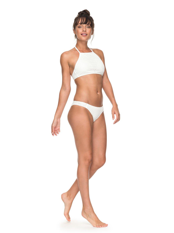 2 Surf Memory - Conjunto de Bikini Crop Top para Mujer Blanco ERJX203255  Roxy d9ecc9427c8