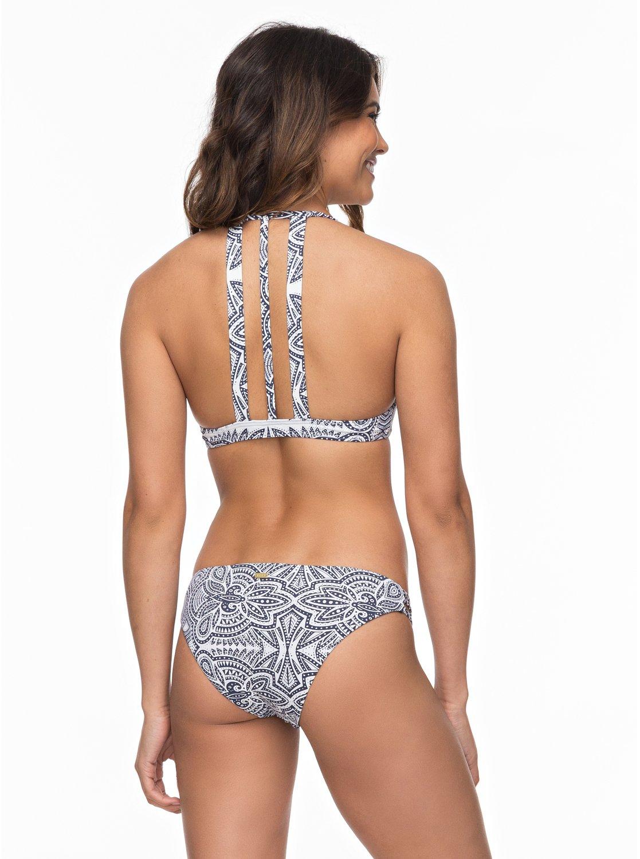 Roxy Girl Of The Sea - Ensemble de bikini triangle athlétique pour Femme - Blanc - Roxy