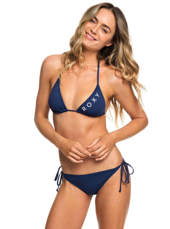 f8f4f1f77009a 1 Beach Classics - Tiki Tri Bikini Set for Women Blue ERJX203327 Roxy