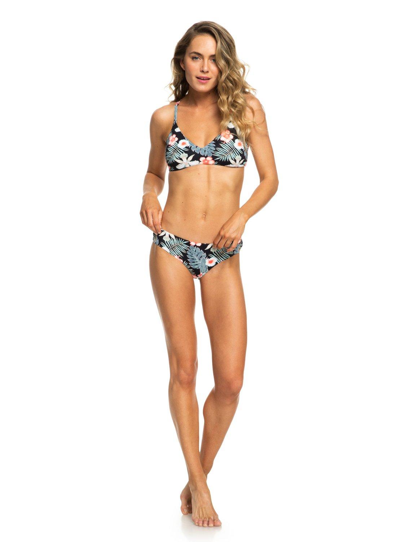 104bc3dac2233 Roxy™ Beach Classics Reversible Fixed Triangle Bikini Top for Women ...