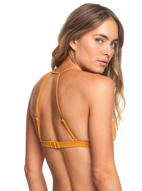 34f0d4cd40d Roxy™ Color My Life Fixed Triangle Bikini Top for Women ERJX303857 ...