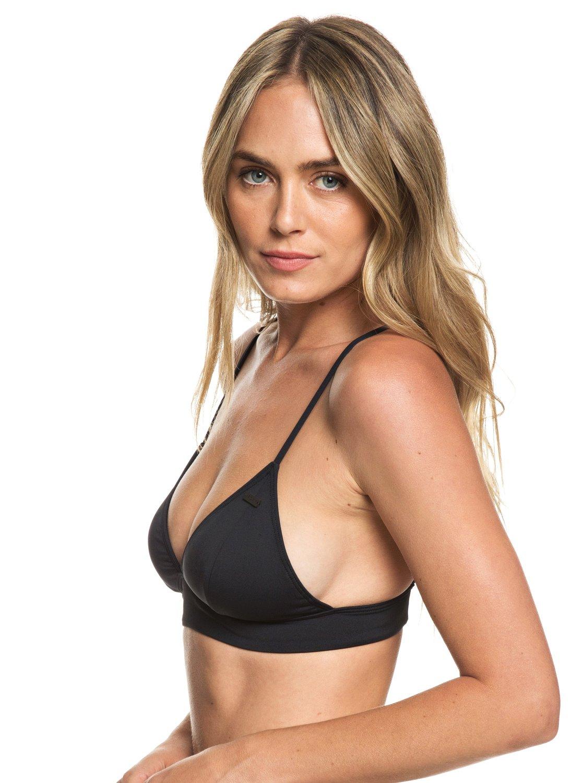 075e4680b5c69 0 Beach Classics - Fixed Triangle Bikini Top for Women Black ERJX303957 Roxy