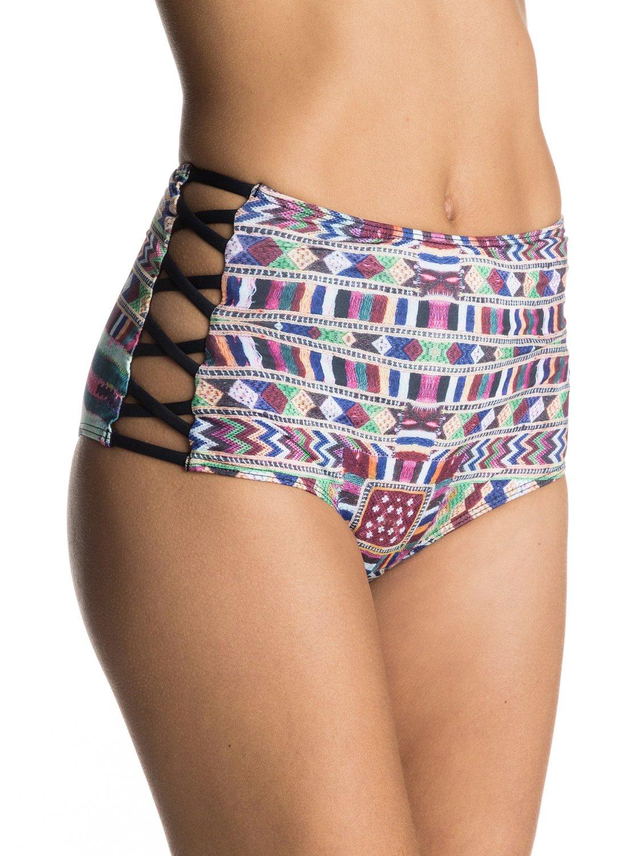 5e3e121476 0 Cuba Cuba - High Waist Bikini Bottoms ERJX403402 Roxy