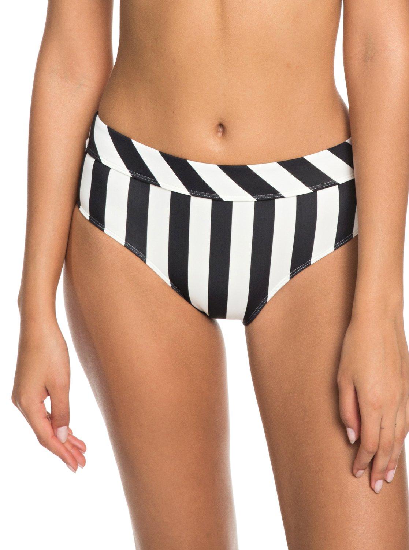 baa70e3ff0ca7 0 Beach Basic Mid-Waist Bikini Bottoms ERJX403633 Roxy