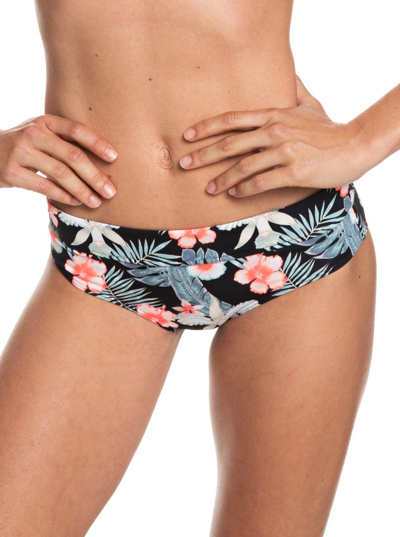 10422f4927f2a 0 Beach Classics - Shorty Bikini Bottoms for Women Black ERJX403686 Roxy