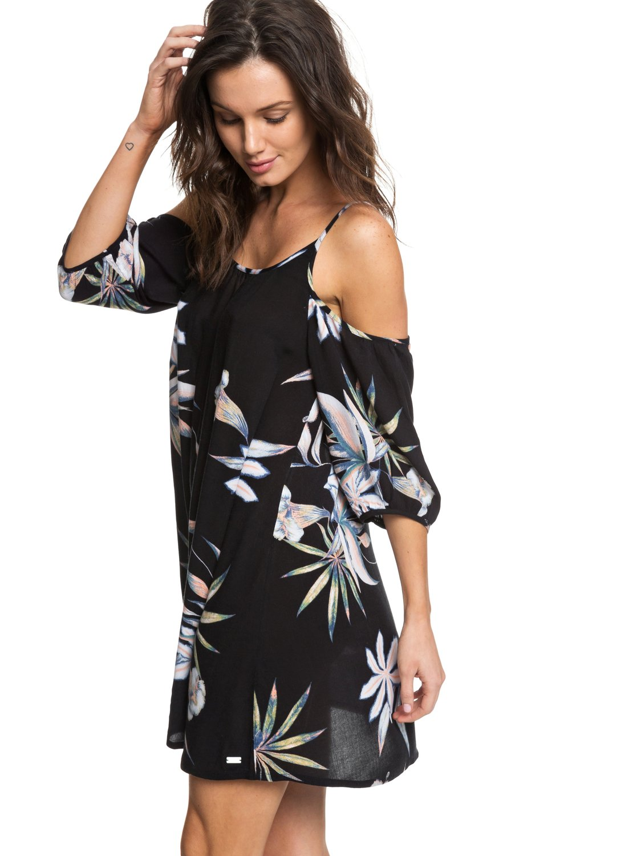 baliana short sleeve beach dress erjx603130  roxy
