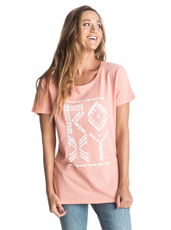 Crew ROXY Tribes T Shirt ERJZT03522 | Roxy