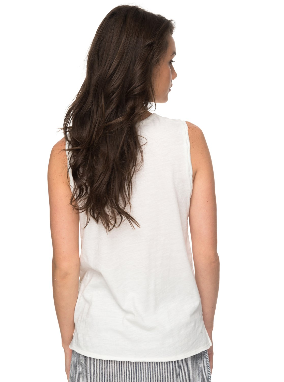 0d2c86130531b 2 Time For An Other Year - Sleeveless T-Shirt White ERJZT04184 Roxy