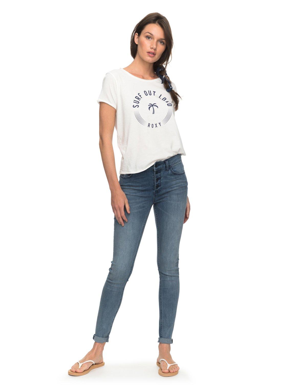 Mujer A Surf Pop Roxy Erjzt04198 Camiseta Para q8I4P04w