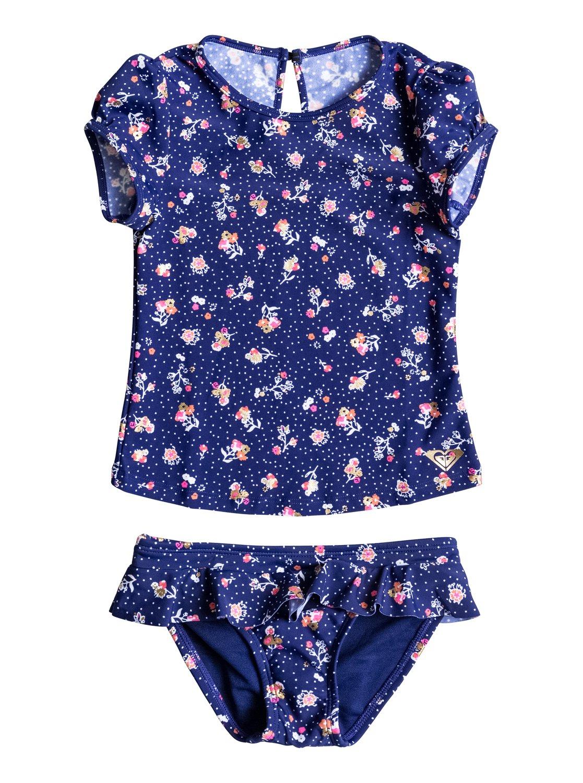 91e4717f62 0 My Sweet Flower - Cap Sleeve Rash Vest ERLWR03002 Roxy