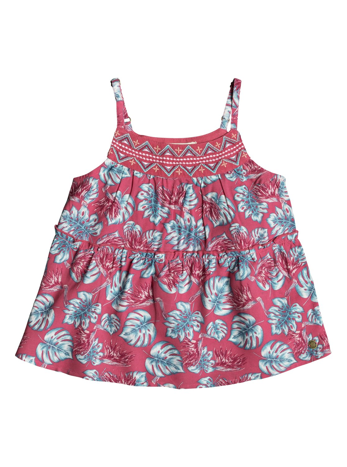 Girls 2 6 All Your Heart Strappy Top Erlwt03019 Roxy