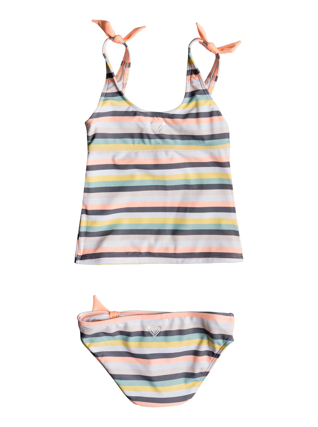 ef258a0426 1 Girl s 2-6 Girl Lets Go Surfing Tankini Set Pink ERLX203076 Roxy