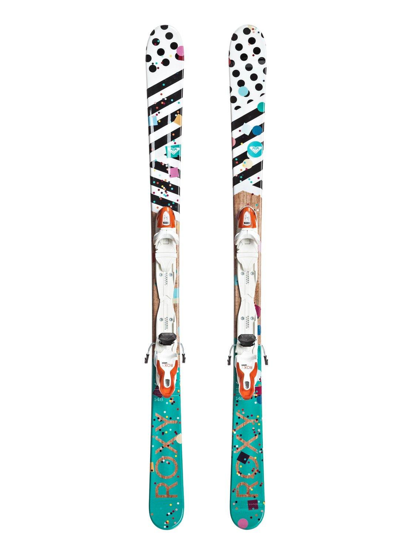 0 Girls Roxy Bonbon All Mountain Skis Blue FFNKX1617 Roxy 3bf58d92f1