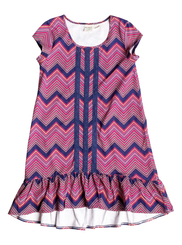 Girls 7 14 Yacht Club Dress Rrf58207 Roxy