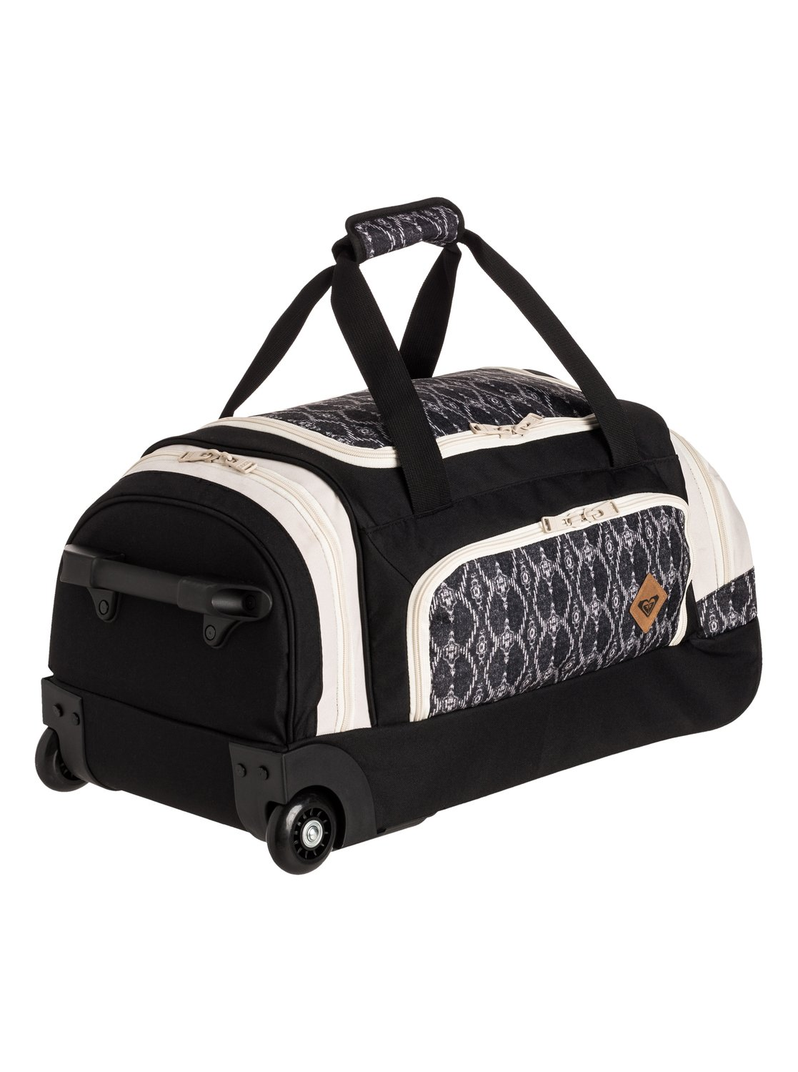 22 rolling duffle bag tprx08001 roxy. Black Bedroom Furniture Sets. Home Design Ideas