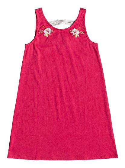 Leaves Movement - Tank Dress for Girls 8-16  ERGKD03081