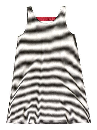 Leaves Movement - Tank Dress for Girls 8-16  ERGKD03085