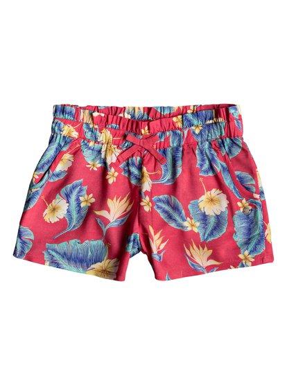 Rainbow Shower - Viscose Shorts for Girls 8-16  ERGNS03038