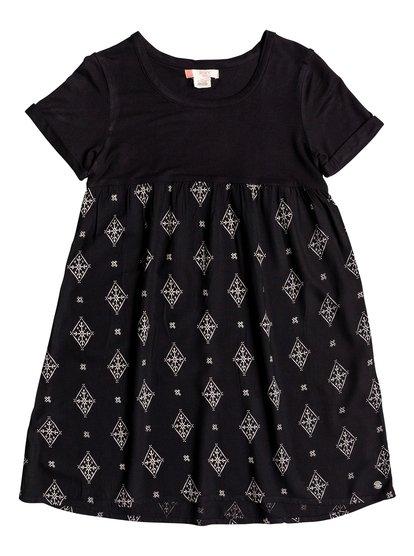 Branche Of Lilac - Short Sleeve Dress  ERGWD03032
