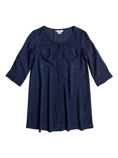 Parrot Feather - 3/4 Sleeve Dress  ERGWD03034