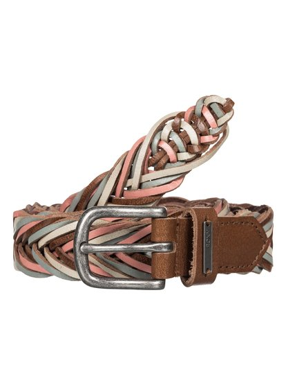 Hear Me Clear - Braided Leather Belt  ERJAA03169