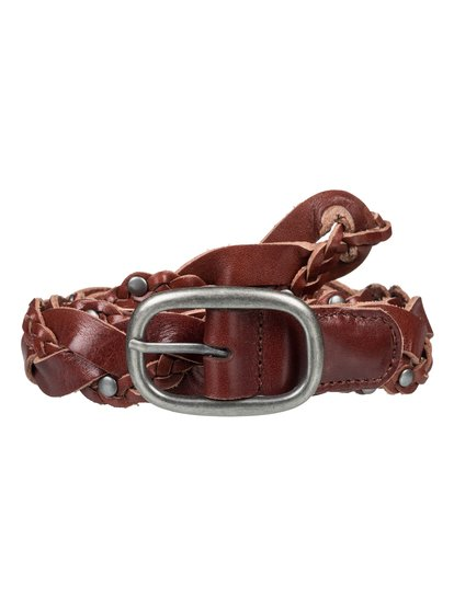 Aloha State Of Mind - Braided Leather Belt  ERJAA03569