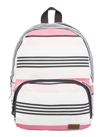 0 Always Core Canvas 8L - Extra-Small Backpack White ERJBP03830 Roxy 041923538a1c0