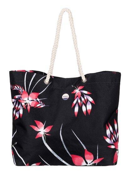 Printed Tropical Vibe - Printed Beach Bag  ERJBT03049