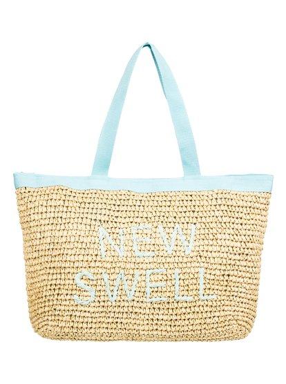 Heard That Sound - Straw Tote Bag  ERJBT03126