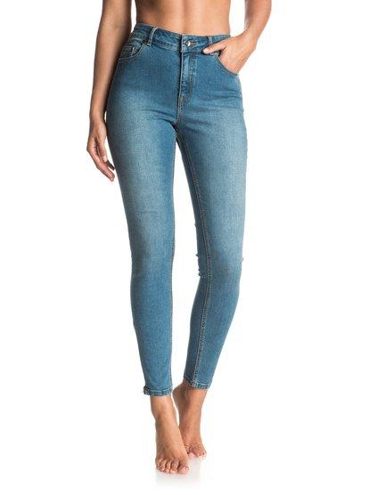 Night Spirit Medium Blue - Super Skinny Jeans  ERJDP03152