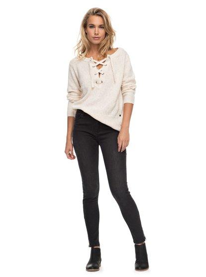Night Spirit B - High Waisted Skinny Fit Jeans for Women  ERJDP03168