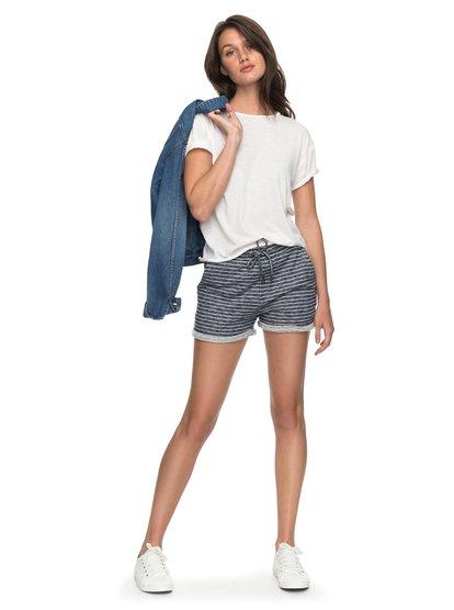 Trippin Stripe - Sweat Shorts  ERJFB03152