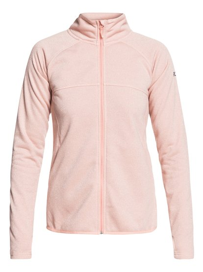 Harmony Shimmer - Technical Zip-Up Fleece for Women  ERJFT03856