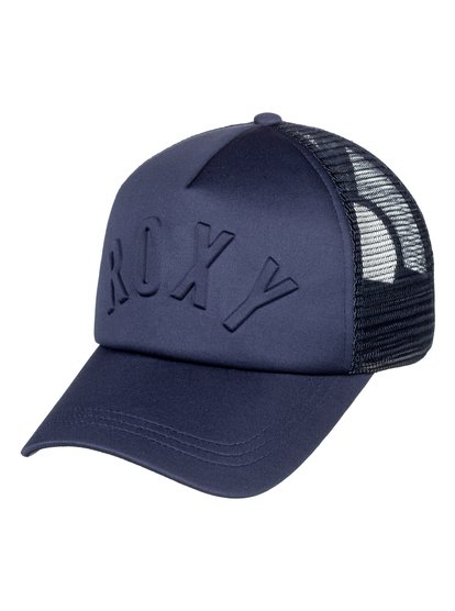0 Truckin 3D - Trucker Cap for Women Blue ERJHA03531 Roxy 1cef004fda7