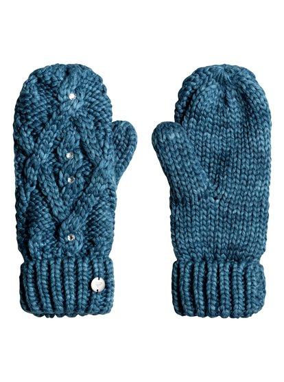 Shooting Star - Knitted Mittens for Women  ERJHN03075
