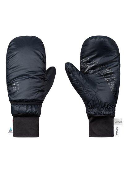 ROXY Packable - Ski/Snowboard Mittens for Women  ERJHN03121