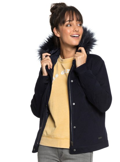 Chic And Snow - Hooded Bomber Jacket for Women  ERJJK03232