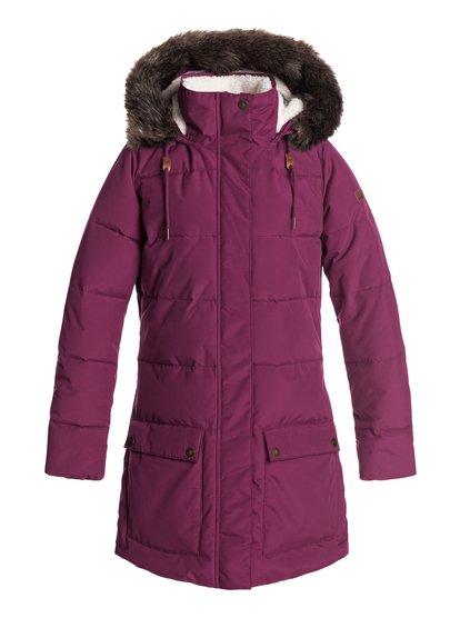 ae047667389b ... Ellie - Waterproof Hooded Longline Puffer Jacket for Women ERJJK03239