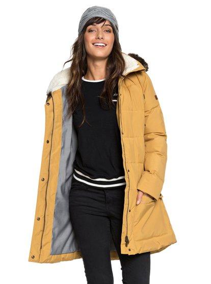 Ellie - Waterproof Hooded Longline Puffer Jacket for Women ERJJK03239 aeb044238db