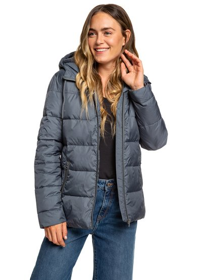 Harbor Days - Water Repellent Hooded Puffer Jacket for Women  ERJJK03254