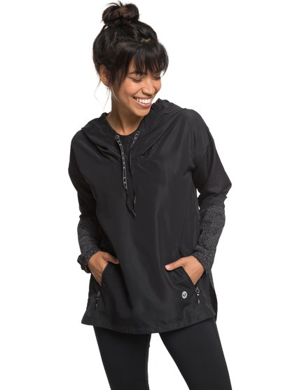 Escape Game - Water-Repellent Hooded Windbreaker for Women  ERJJK03258