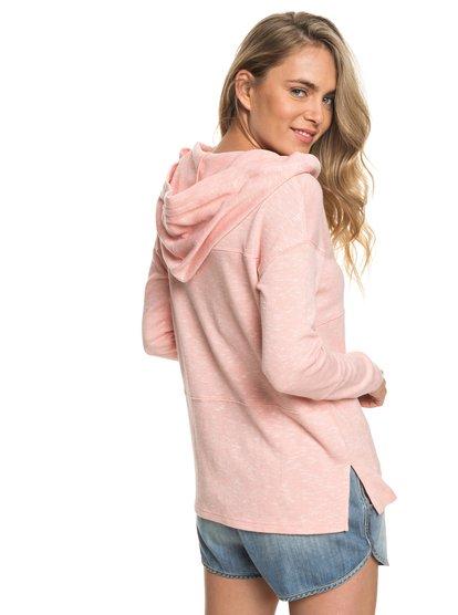 Sunset Surfside - Hooded Poncho Sweatshirt for Women  ERJKT03367