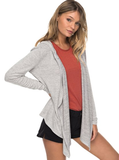 Vermont Escape - Hooded Cardigan for Women  ERJKT03415